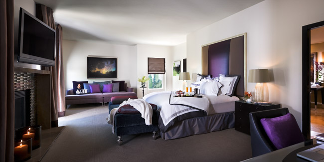 The Presidential Villa at Sunset Marquis Hotel is among the 100 renovated suites.