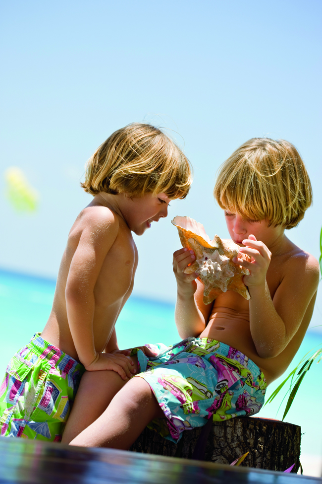 Ritz Carlton Cancun offers an engaging program for kids ages 4 to 12 called Ritz Kids.