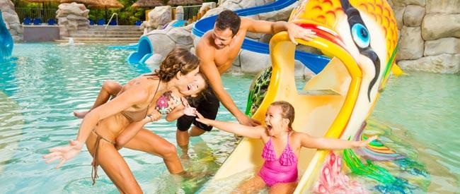 Family fun at Sandos Hotels & Resorts.