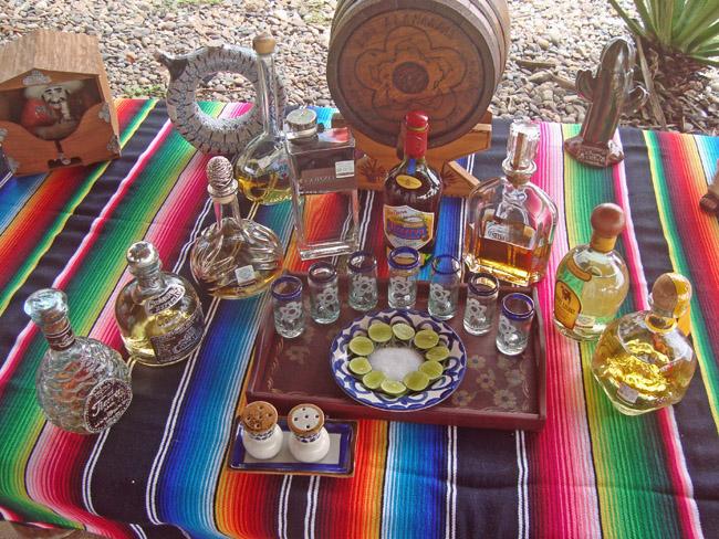 It's a tequila fiesta at Las Almandas.