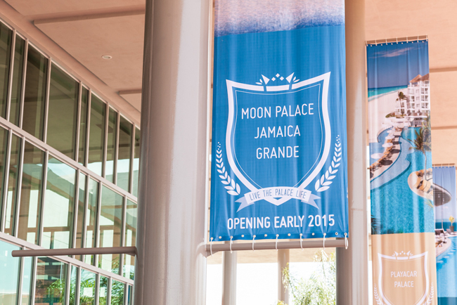 Palace Resorts' held its first Global Conference at Moon Palace Golf & Spa Resort where they announced the opening of a new property in Jamaica.