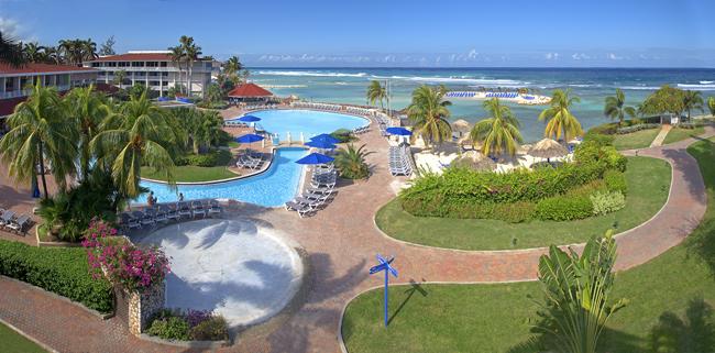It's a girls' getaway in Jamaica.