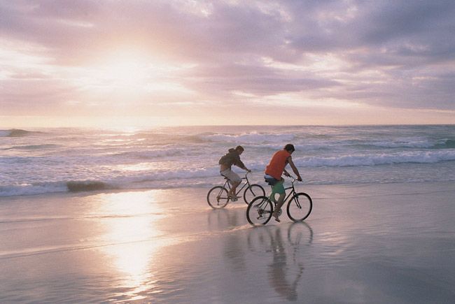 Your clients and their family can bike down the beach or through Cape Cod Bike & Rail Trail while staying at Ocean Edge Resort & Golf Resort.