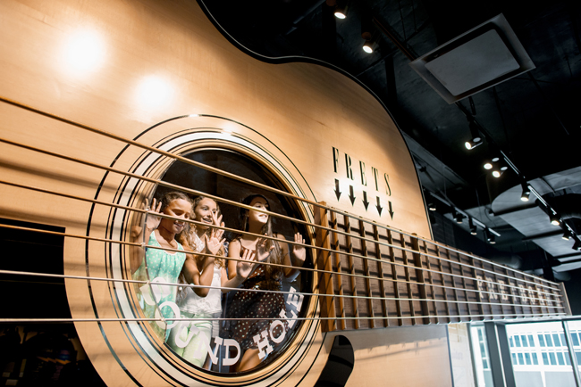 Adventures by Disney tours Nashville's music scene.