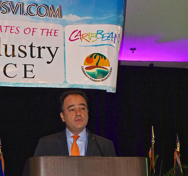 At the Caribbean Tourism Organization's (CTO) State of the Industry Conference, Apple Leisure Group CEO, Alex Zozaya talks about authentic experiences.