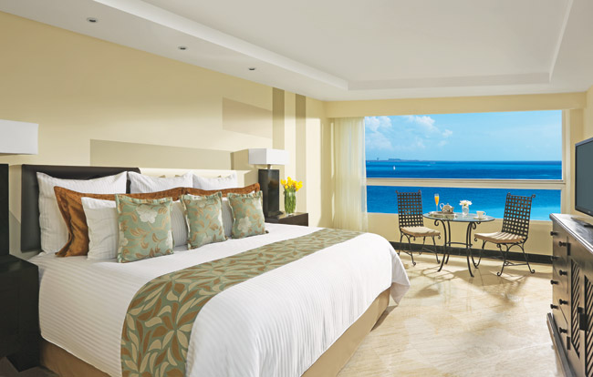 King Suite accommodations at the new  Dreams Sands Cancun Resort & Spa.