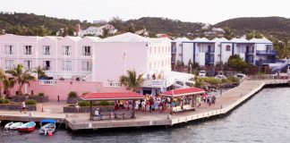 Hotel Caravelle's boardwalk. (Photo Courtesy of GoToStCroix.com.)