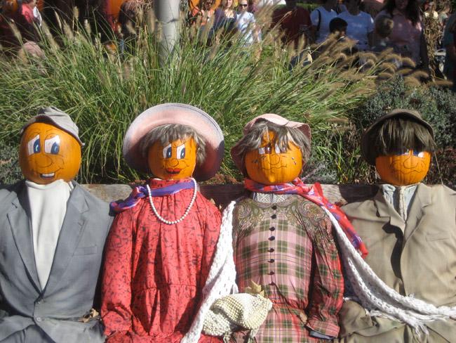 Pumplin People at Iron Kettle Farm in Tioga.