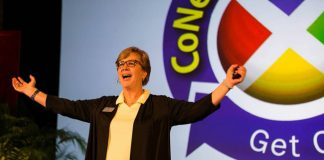Nexion president, Jackie Friedman, announced the new app during the general session at this year's CoNexion conference.
