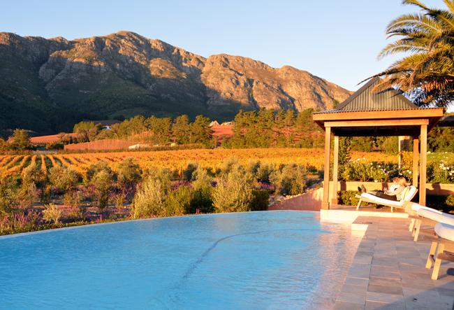 La Residence in South Africa's Franschhoek winelands. (photo credit: Zicasso)