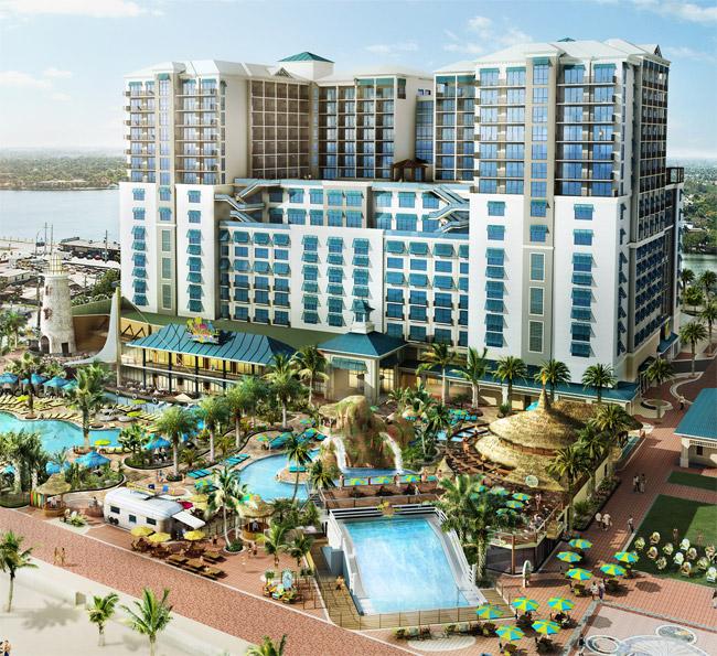 Rendering of Margaritaville Beach Resort.