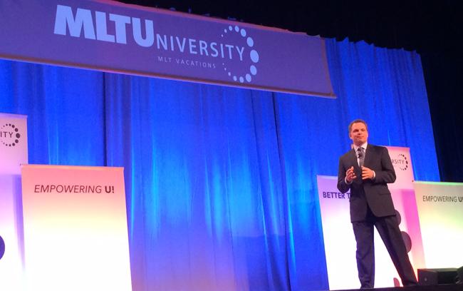 MLT President, John Caldwell, at MLT University 2014 in Minneapolis.