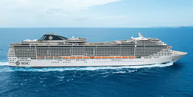 MSC Cruises' On the Wine Routes voyages caters to wine enthusiasts.