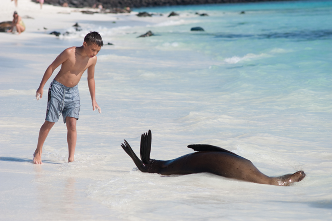 Ecoventura offers family and family teen travel in 2015.