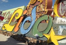 Neon Museum in Downtown Vegas.