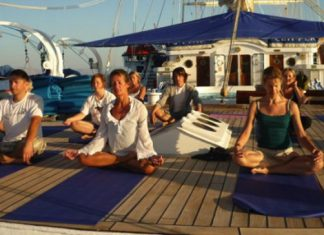Stay Clippers offers six yoga-themed cruises.