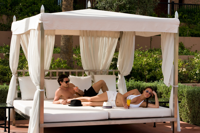 Selman Marrakech, the property sits in a 15-acre park with 56 rooms and suites.