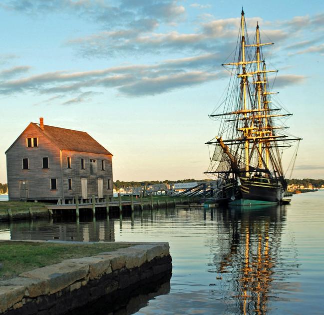 The harbor in Salem