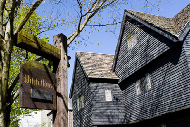 Salem Witch House. (Photo credit Scott Lanes.)