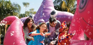 Orlando, Fla. (September 4, 2014) -- SeaWorld's Halloween Spooktacular is an ocean of Halloween fun, every weekend in October at SeaWorld Orlando.