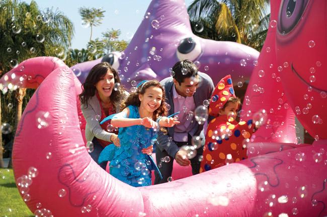 SeaWorld's Halloween Spooktacular is an ocean of Halloween fun, every weekend in October at SeaWorld Orlando.