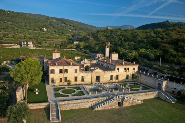 Guests stay at the Allegrini Villa della Torre Estate while on Select Italy's new tour.
