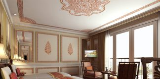The Colonial Suite aboard Ganges Voyager II. (Photo Credit:Uniworld Boutique River Cruise Collection.)