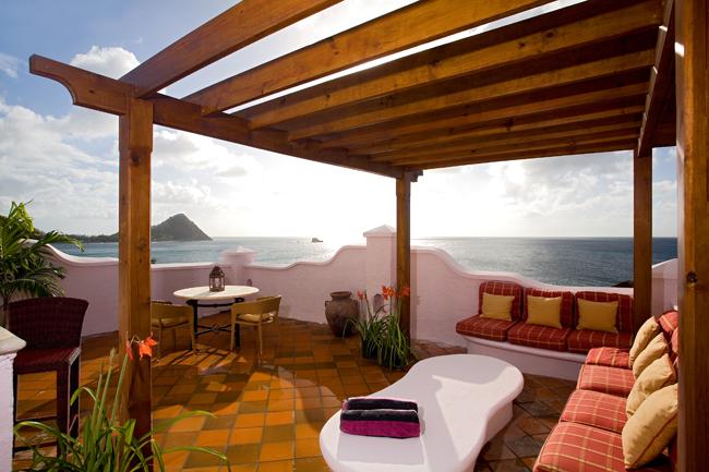 Villa Suite accommodations at Cap Maison.