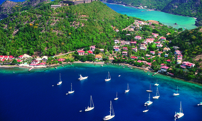 Agents earn $50 with reported bookings to the Guadeloupe Islands.