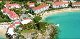 Aerial view of the Grand Case Beach Club.