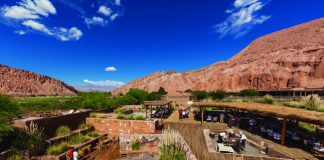 A desert oasis at Alto Atacama Desert Lodge & Spa.