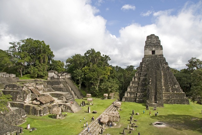 Visit Tikal National Park during Guatemala Travel Mart.