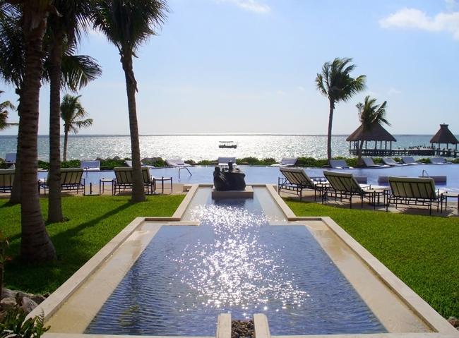 Zoëtry Paraiso de la Bonita overlooking the Caribbean Sea.