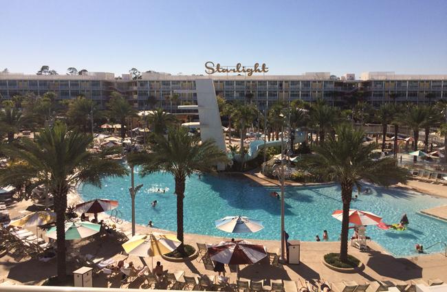 The main pool at Cabana Bay Beach Resort.