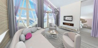 Club Med Val Thorens Suite.