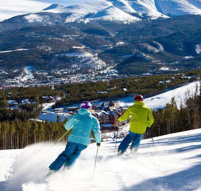 Breckenridge skiing.