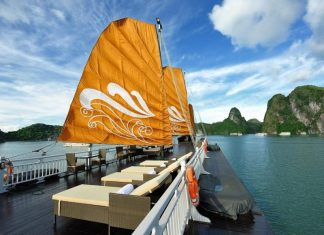 Ha Long Bay Cruise with Super Value Tours.