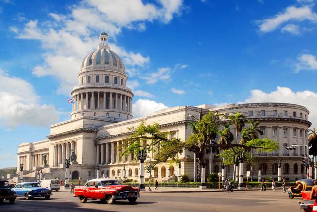 Visit Havana's Capitolio building on LATOUR's Hello Cuba itinerary.