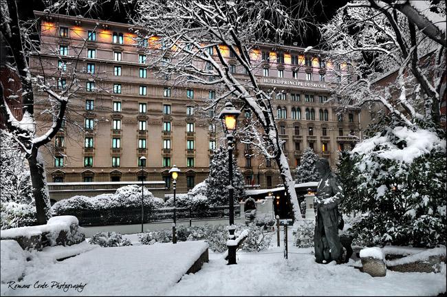 Hotel Principe di Savoia in Italy.