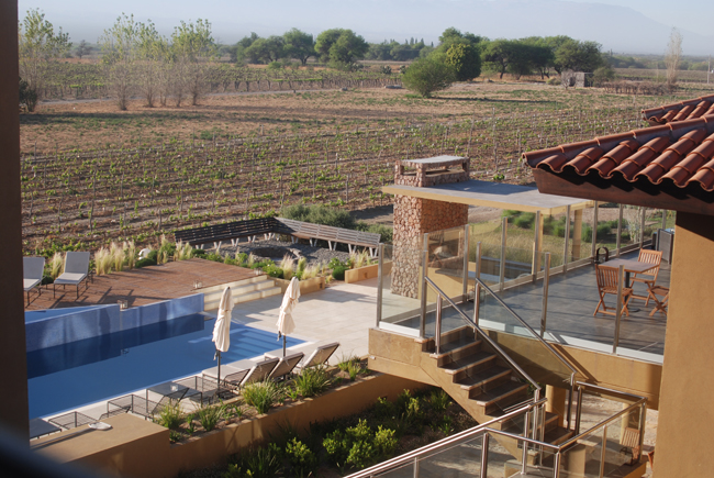 The Grace Hotel & Spa Cafayate in Salta Province's wine country.