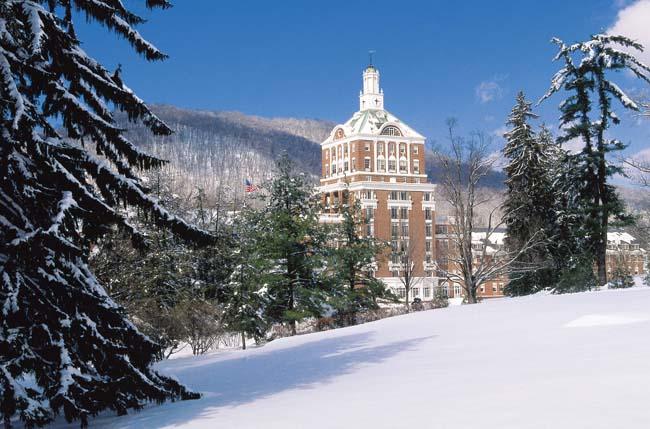 Omni Homestead Resort in West Virginia.
