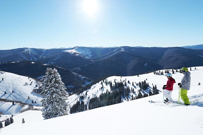 Skiing in Vail. (Photo credit: Jack Affleck.)