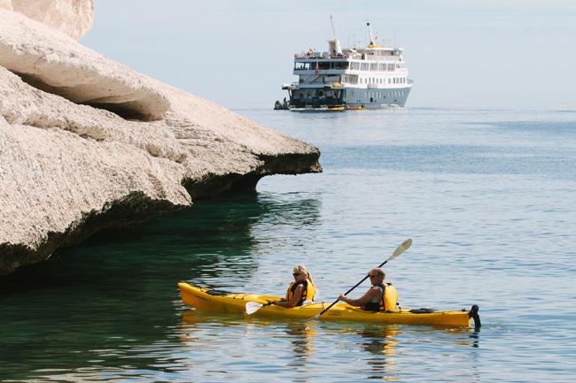Un-Cruise Adventures explores Mexico's marine life.