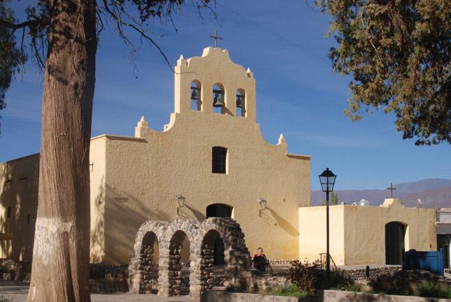 A chapel in Salta.