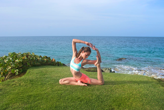 Tara Stiles launches ENERGIZE at W Retreat & Spa—Vieques Island.
