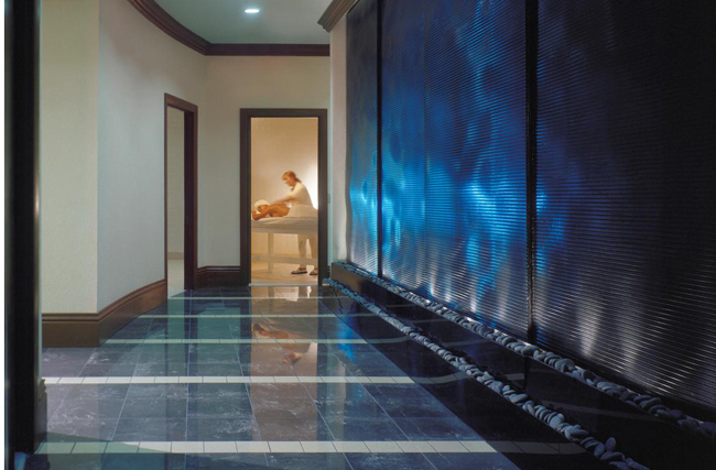 The Hibiscus Spa at the Westin Grand Cayman.