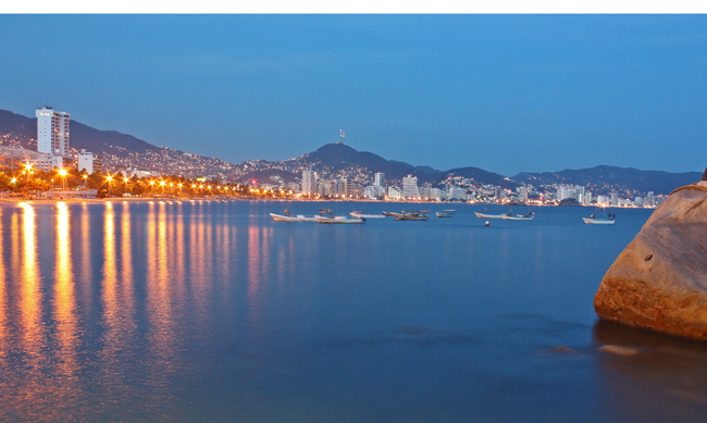 Acapulco is one of the destinations in Mexico's Sun Triangle initiative.