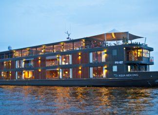Aqua Mekong exterior.