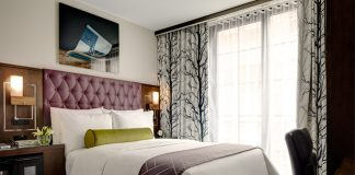 Guestroom at the Archer New York.