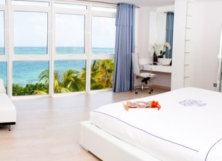 Martinique features stunning seaside hotels and villas.